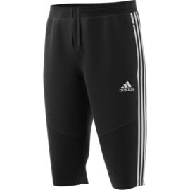 Driekwart zwarte broek van Adidas TIRO 19