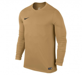 Goudkleur Nike keepersshirt junior