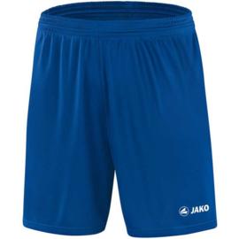 Junior voetbalbroek blauw Jako