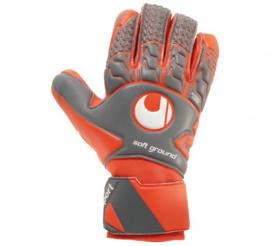 Oranje keepershandchoenen zonder vingerbescherming