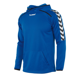 Authentic hoody Hummel blauw SALE