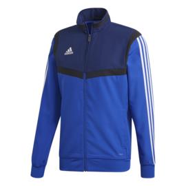 Blauwe Adidas TIRO 19 trainingsjas
