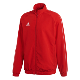 Adidas Core 18 trainingsjas rood