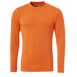 Oranje ondershirt / thermoshirt junior en senior Uhlsport