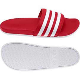 Rode Adilette badslippers van Adidas