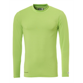Groen ondershirt / thermoshirt junior en senior Uhlsport