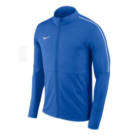 Blauw Nike trainingsjas junior Park 18