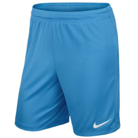 Lichtblauwe Nike Park short