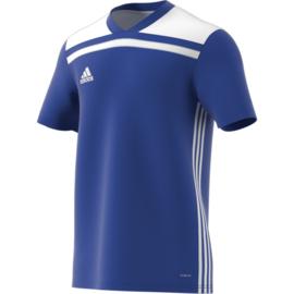 Adidas Regista 18 blauw shirt met korte mouwen