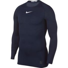 Nike thermoshirt donkerblauw