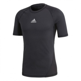 Zwart Adidas thermoshirt met korte mouwen