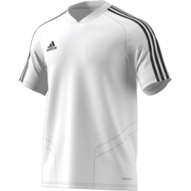 Adidas Tiro 19 junior training jersey wit shirt korte mouw