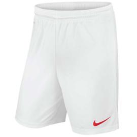 Witte Nike Park short
