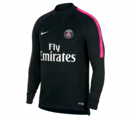 Nike PSG zwarte trainingsjas / trainingstop