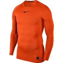 Oranje Nike thermoshirt