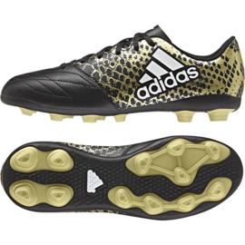 Adidas X 16.4 FxG zwarte voetbalschoenen
