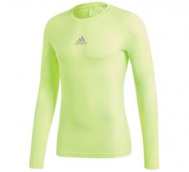 Adidas thermoshirt  geel lange mouw