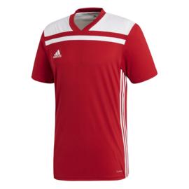 Adidas Regista 18 rood shirt met korte mouwen