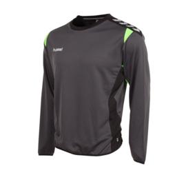 Zwarte grijze trui sweater Hummel Paris