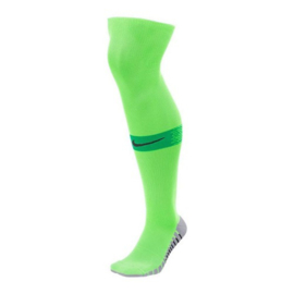 Felgroene Nike Matchfit voetbalsokken