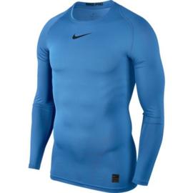 Lichtblauw Nike thermoshirt