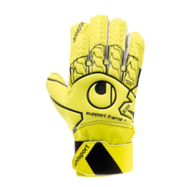 Vingersave keepershandschoenen Geel Uhlsport Soft​
