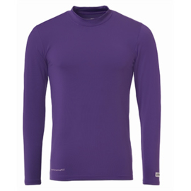 Paars ondershirt / thermoshirt junior en senior Uhlsport