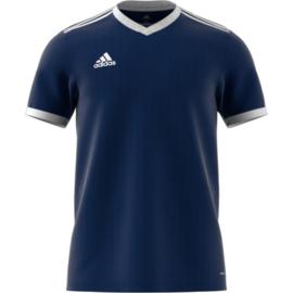 Donkerblauw Adidas shirt junior met korte mouwen