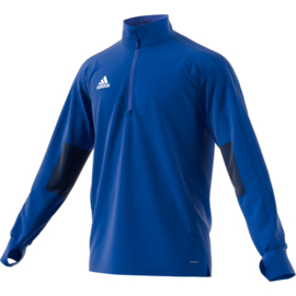 Adidas Condivo 18 trainingstop lichtblauw