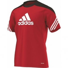 Adidas trainings shirt rood
