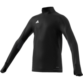 Adidas tiro 17 sweater zwart junior