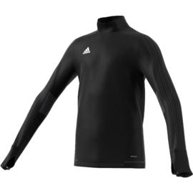 Adidas tiro 17 sweater zwart junior