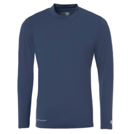Donkerblauw ondershirt / thermoshirt junior en senior Uhlsport