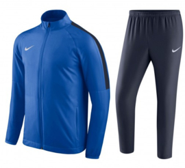 Blauw Nike trainingspak