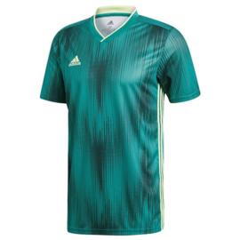 Adidas Tiro 19 groen shirt korte mouw