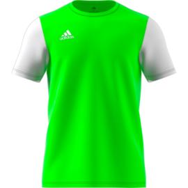 Junior groene Estro 19 Adidas shirt met korte mouwen