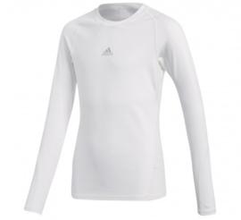 Wit Adidas thermoshirt junior