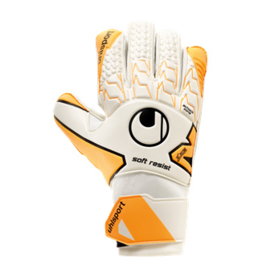 Keepershandschoenen Uhlsport wit oranje