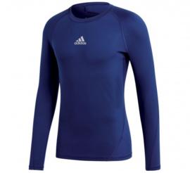 Adidas thermoshirt  donkerblauw  lange mouw