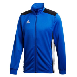 Blauwe Adidas Regista 18 trainingsjas