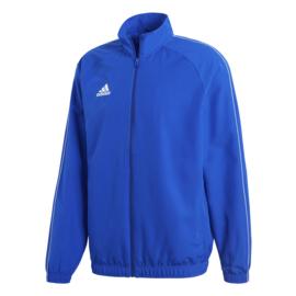 Adidas Core 18 trainingsjas lichtblauw