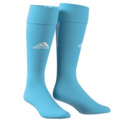 Lichtblauwe Adidas voetbalsokken