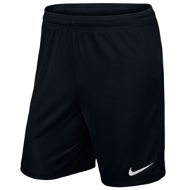 Zwarte Nike Park short