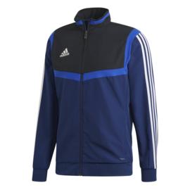 Donkerblauwe Adidas TIRO 19 trainingsjas