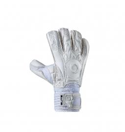 Witte keepershandschoenen Elite SOLO