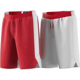 Basketbalbroek junior rood en wit