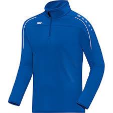 Lichtblauwe Jako Classico trainingstop