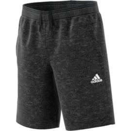 Grijze korte stoffen broek van Adidas