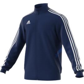 Blauwe Adidas TIRO 19 jas