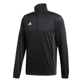 Zwarte Adidas trainingsjas Core 18